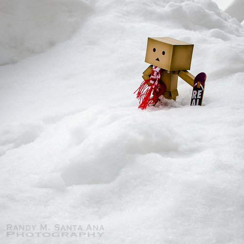 Danbo Checking Out The Slopes.