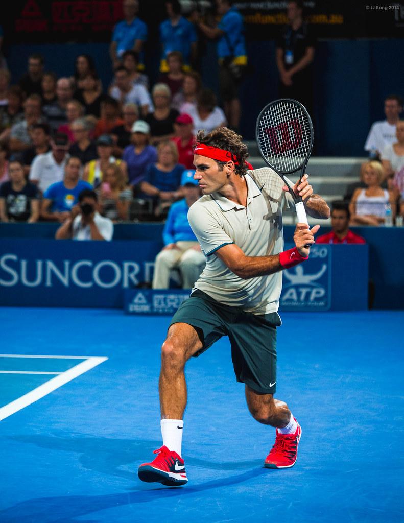 Roger Federer Brisbane International