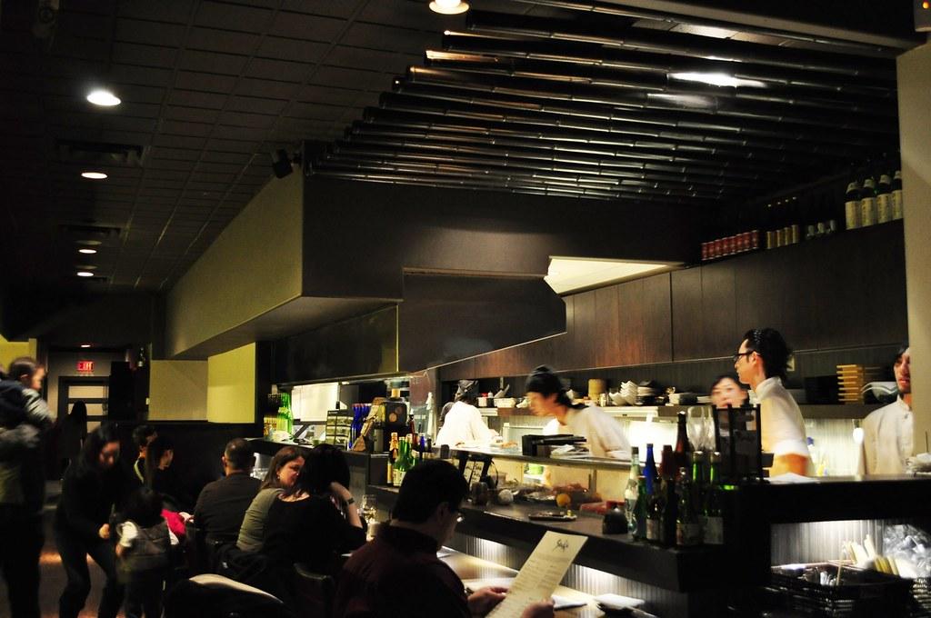 Shuraku sake bar and bistro vancouver downtown nomss for Bar food vancouver