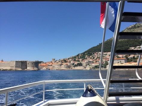 A ferry to Lokrum