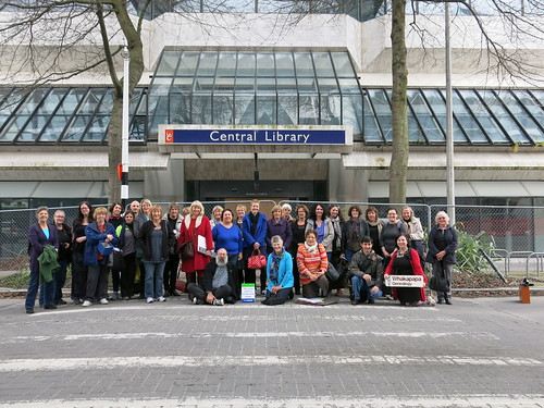 Central Library staff