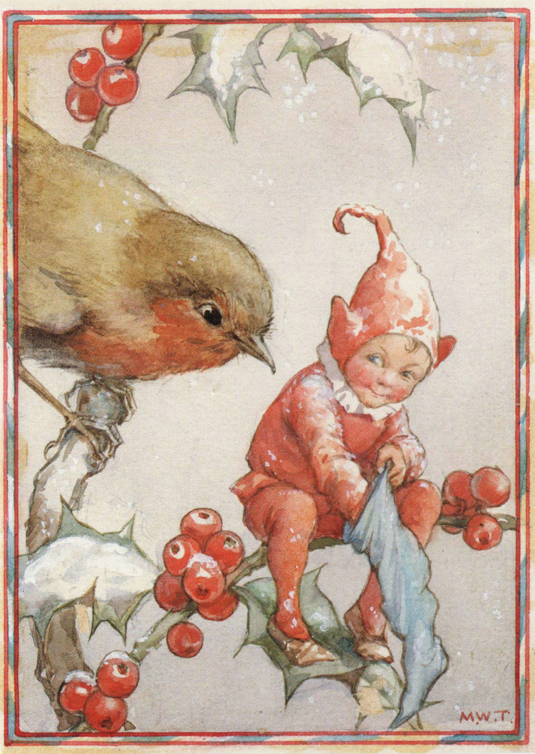 Margaret Tarrant Christmas Card Flickr Photo Sharing