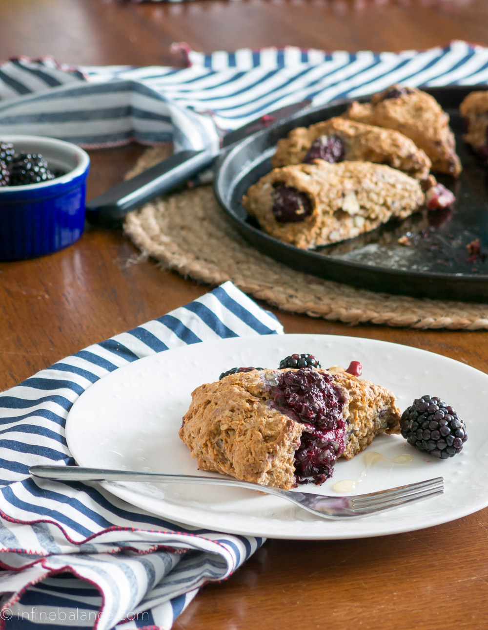 Blackberry Red Walnut Scones {#vegan} walnuts vegan valentine's day breakfast valentine s day scones red walnuts blackberries baking