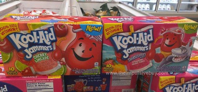 Kool-Aid Jammers Cherry Limeade and Sharkleberry Fin