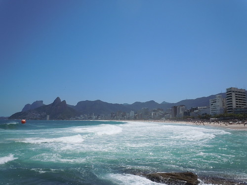 Beautiful Ipanema Beach on a Sunny Day