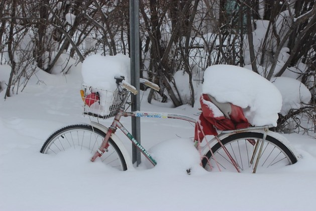 Frostbike Winter Cycling trip to Yellowknife, Northwest Territories