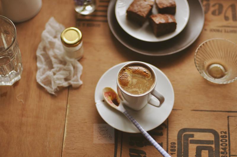 Day 162.365 - Coffee with Brownies (a week of coffee  - III)