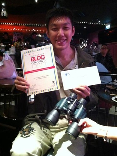 Singapore Blog Awards - Ivan Kwan