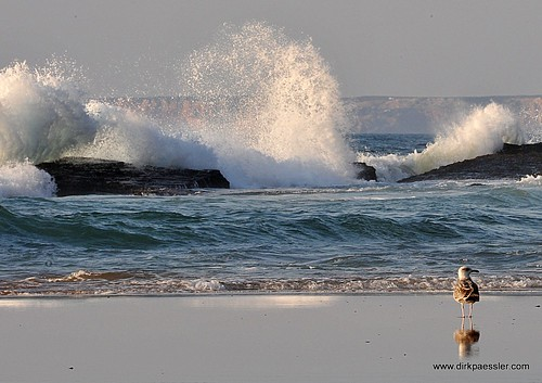 Praia Da Cordoama by Dirk Paessler