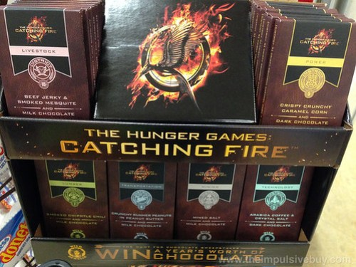 The Hunger Games: Catching Fire Chocolate