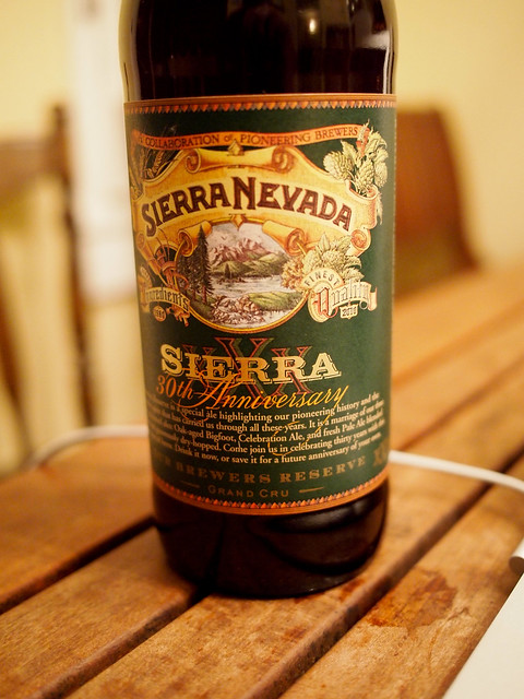 Sierra Nevada 30th Anniversary Our Brewers Reserve - Grand Cru