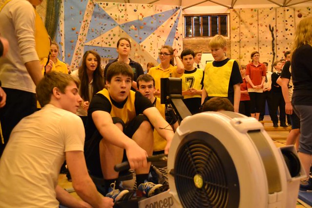 Indoor Rowing Competition 2013