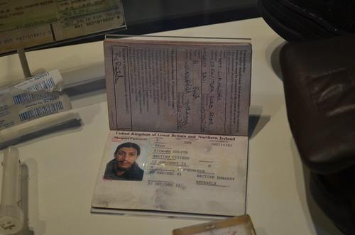 Richard Reid's passport