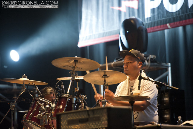 Overthrown - Drummer Yusof warming up