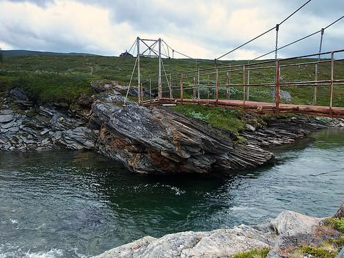 Bridge over Varvvekjåhkå