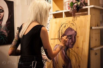 Crroks - Fundraising Art Show @ Fall Down Gallery