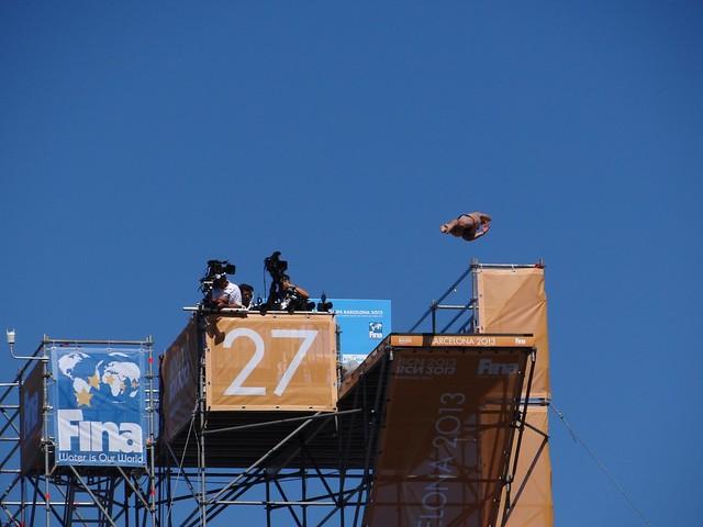Impressive jump height at BCN 2013