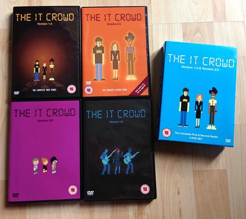 The IT Crowd DVD box set