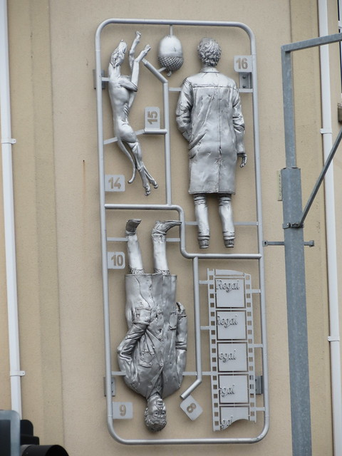 Airfix-style art, Staple Hill, Bristol