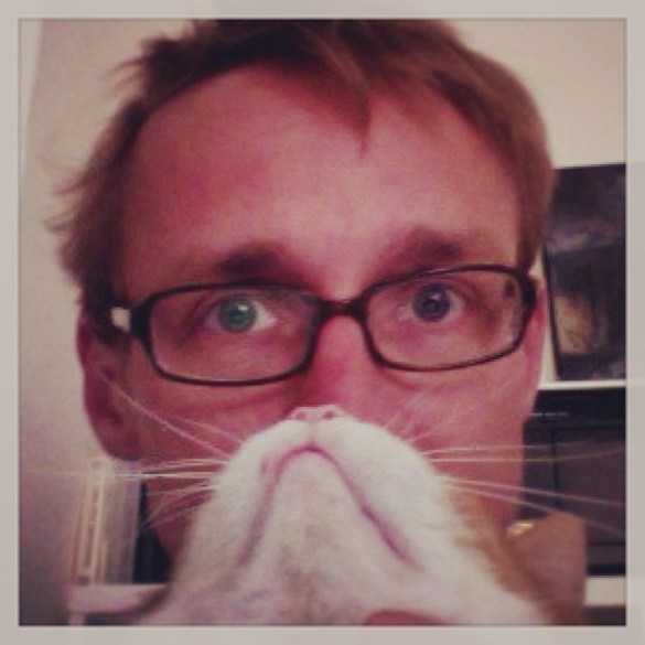 Ich mit Bart. #catbearding