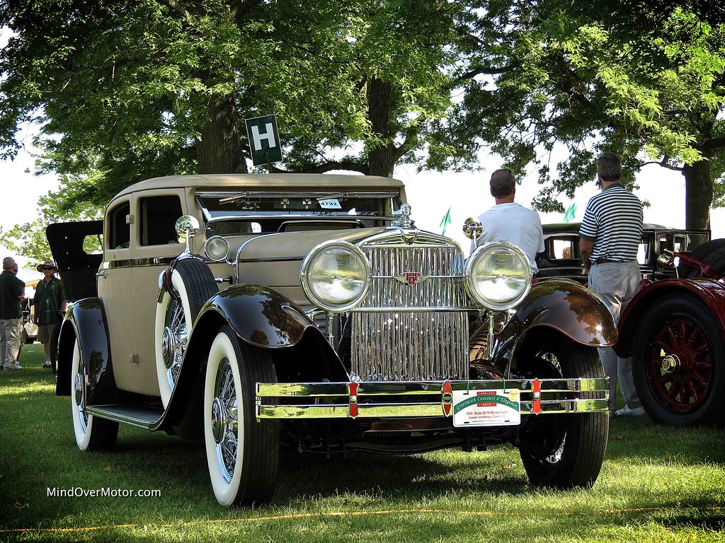 1930 Stutz SV16 Monte Carlo