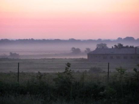oklahoma sunrise historic barn