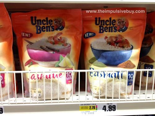 Uncle Ben's Jasmine and Basmati Rice