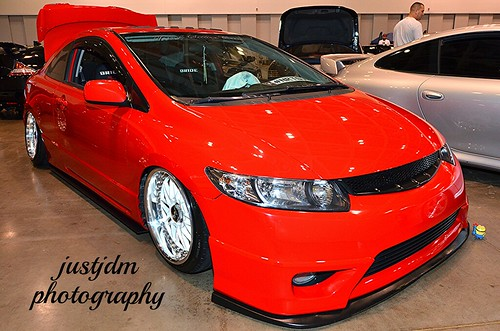 red honda civic lace