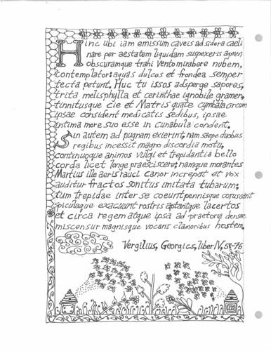 Georgics Book IV Page
