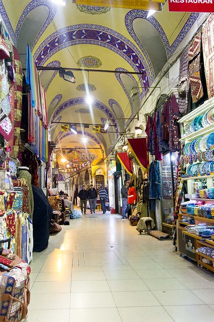 One of many isles in the Grand Bazaar, Istanbul.
