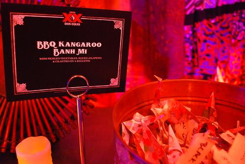 BBQ Kangaroo Bahn mi