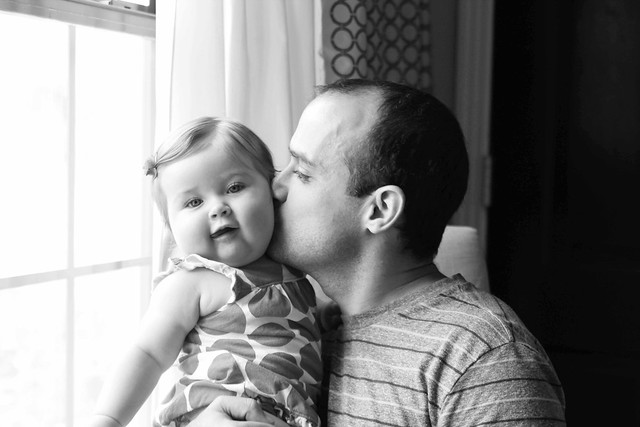 Harper and her daddy