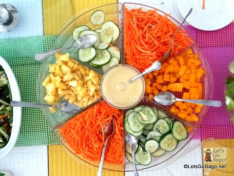 Organic Salad @ May's Organic Garden and Restaurant