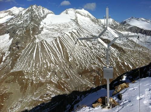 Gipfelkreuz Napfspitze 2.888 m, Tauferer Ahrntal