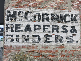 Morrow and Bassett ghost signs