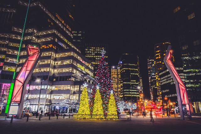Downtown Vancouver Christmas Tree Lighting Vancouver