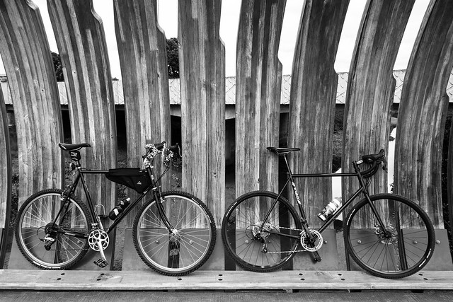 Coupla Big Black Bikes