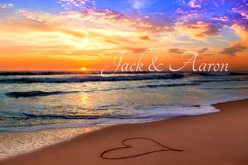 Jack and Aaron's Valentne Sunset