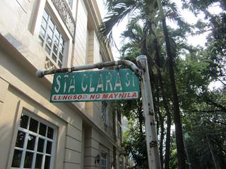 Sta Clara Street in Intramuros