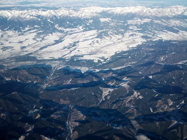 Tatras & Fatras from the air