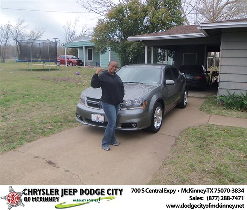#HappyAnniversary to Stacee S Holloway on your 2013 #Dodge #Avenger from Bobby  Crosby  and everyone at Dodge City of McKinney! by Dodge City McKinney Texas