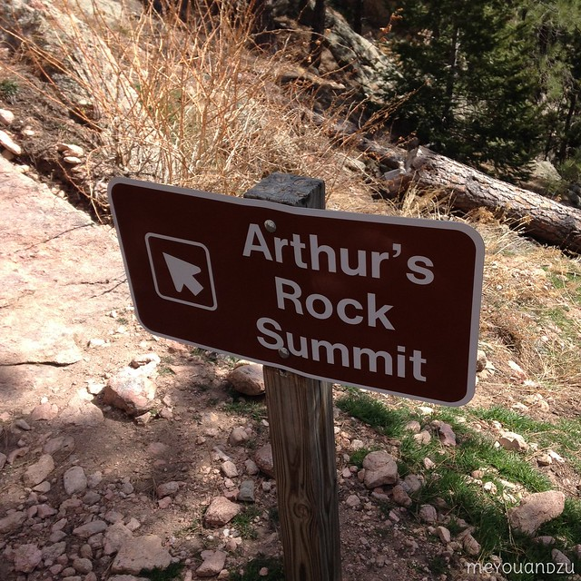 Arthur's Rock Summit
