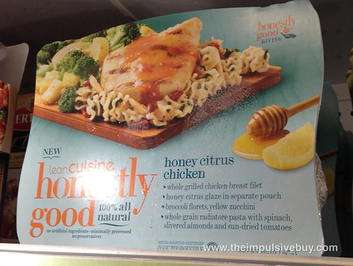 Lean Cuisine Honestly Good Honey Citrus Chicken