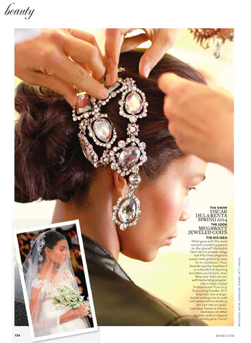 BRIDES aug/sept '13 - feat. Rachel Scroggins Photography