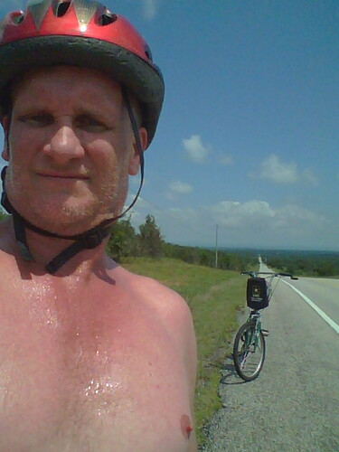 me on a ride by under the skies of arkansas
