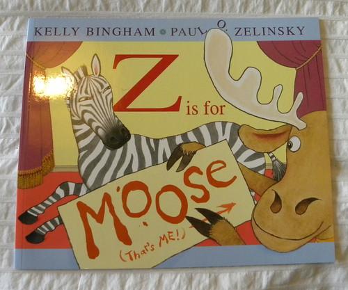 Kelly Bingham and Paul O Zelinsky, Z is for Moose