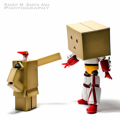 Danbo Getter Meets Getter Danbo.