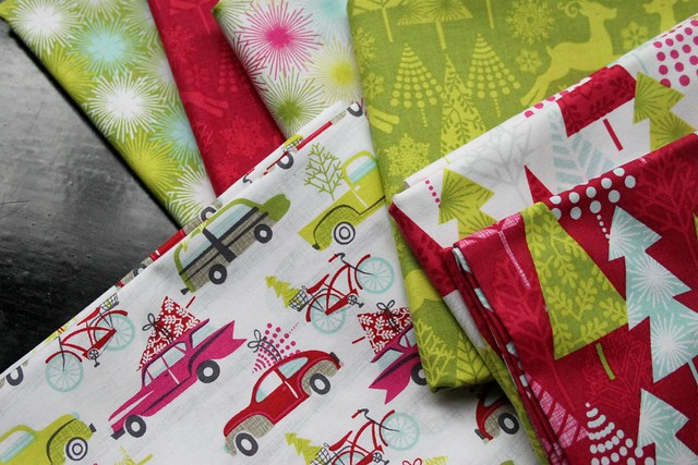 Hip Holiday Fabrics