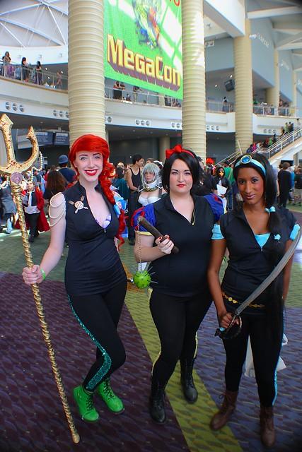 Disney cosplay costumes at MegaCon 2014