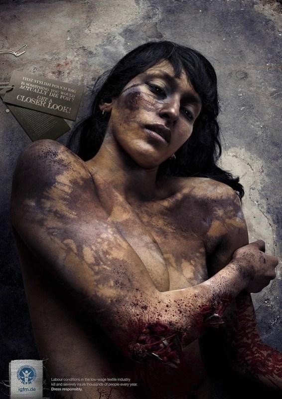 International Foundation Of Human Rights Real Fashion Victims - Bethina